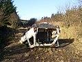 What happened here^ - geograph.org.uk - 1581586.jpg