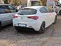 White Giulietta Safari Alfa Romeo.JPG