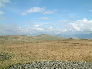 Whitfell mountain in United Kingdom