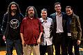 Wikimania 2009 - Richard Stallman en el teatro Alvear con asistentes (13).jpg