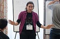 Wikimedia Hackathon Vienna 2017-05-19 Mentoring Program Introduction 036.jpg