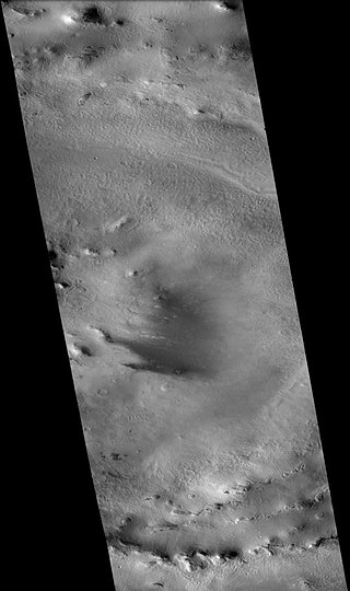 Mie (crater) crater on Mars