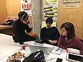 Wikimujeres en el Medialab Prado enero 2017 -3.jpg