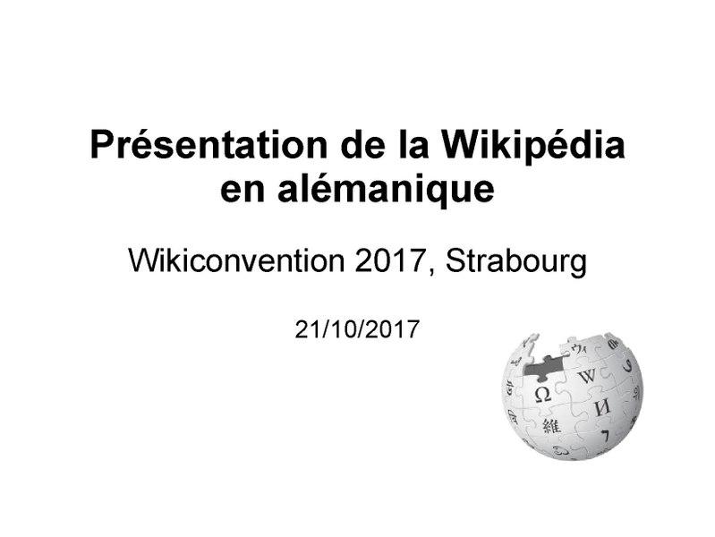 File:Wikipédia alémanique - présentation à la WikiConvention francophone 2017.pdf