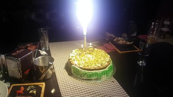 Файл:Wikipedia 19 cake in Bulgaria.webm