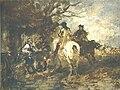 Wilhelm von Diez, Vor der Schenke.jpg