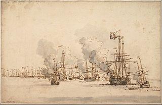 The Sea Battle at la Hogue