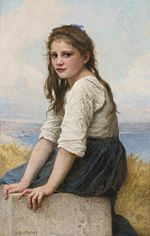 William-Adolphe Bouguereau - Au bord de la mer (1903).jpg