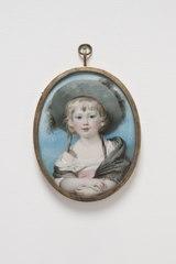 William Cavendish (1783-1812), som barn 1786