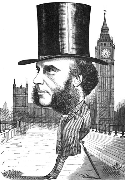 Image result for j s mill caricature