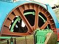 Winding-engine wheel, Lady Victoria Colliery - geograph.org.uk - 1342542.jpg
