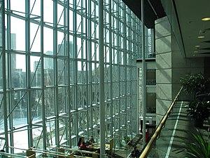 Millennium Library (Winnipeg) - Interior reading terrace