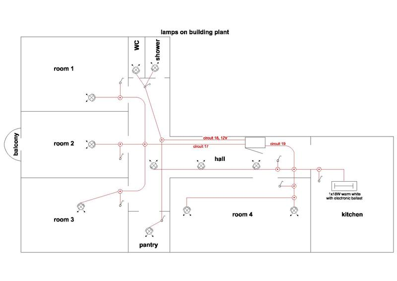 Electrical Wiring Diagram For A Room : File wiring diagram of room apartment pdf wikimedia