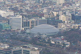 Jangchung Arena Sports arena in Seoul, South Korea