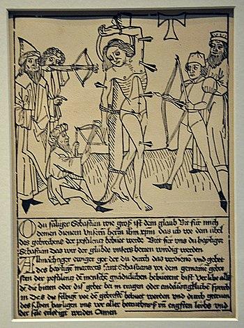 Druck von der nebenstehenden Druckplatte, British Museum