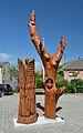 Wooden sculpture 02 by Jozsef Balint, Hundsheim.jpg