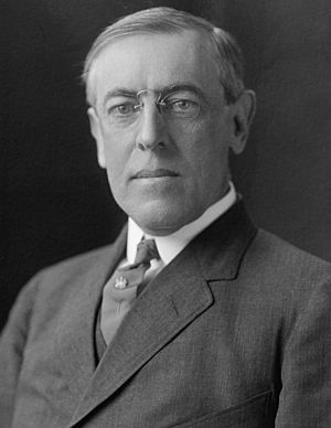 English: Woodrow Wilson.