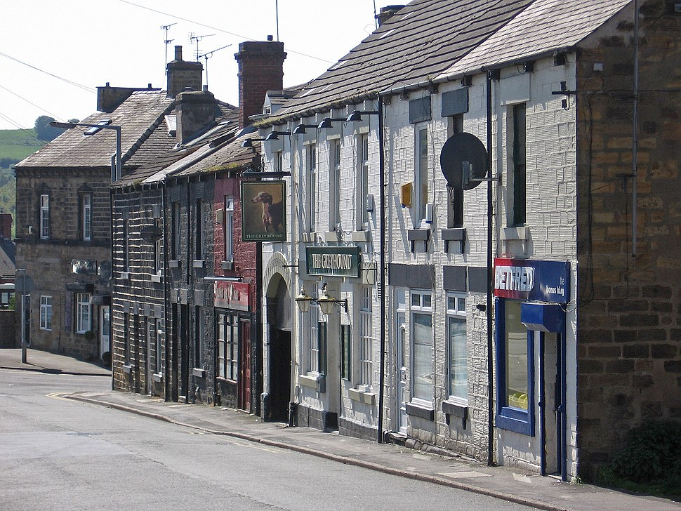 Worsbrough - southern end of High Street