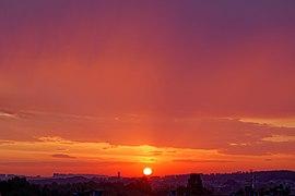 Wschód słońca w Krakowie, 20211006 0654 3124.jpg
