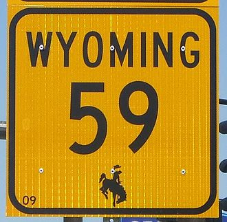 Wyoming Highway 59 - Wyoming Highway 59 shield