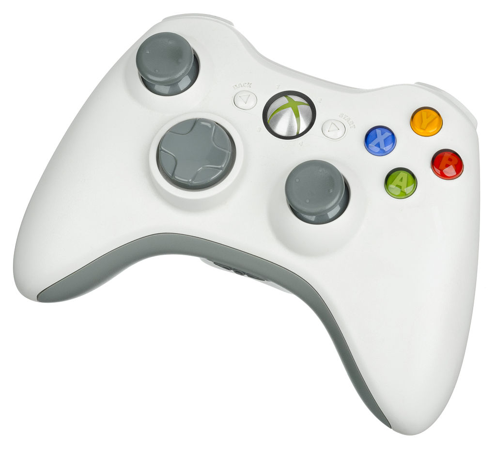 Xbox 360 Wireless Controller, source: wikipedia.org