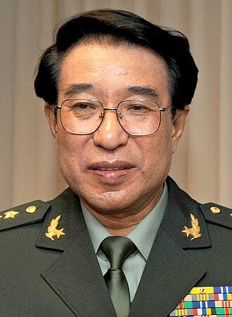 Xu Caihou - Image: Xu Caihou 2009
