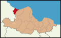 Yakakent District Location in Samsun Province.png