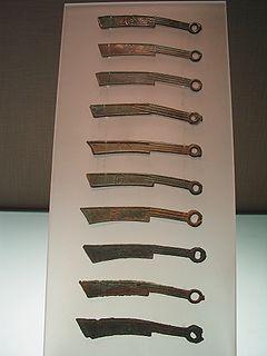 Knife money Historical money of China