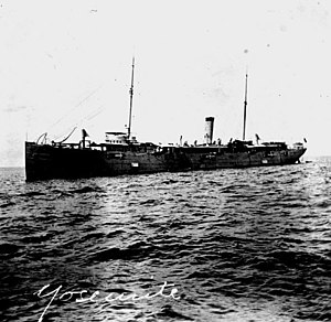 USS Yosemite (1892) - USS Yosemite, the American cruiser that hunted down Antionio Lopez