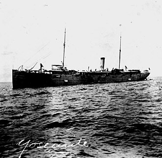 USS Yosemite (1892) - USS Yosemite, the American cruiser that hunted down Antionio Lopez