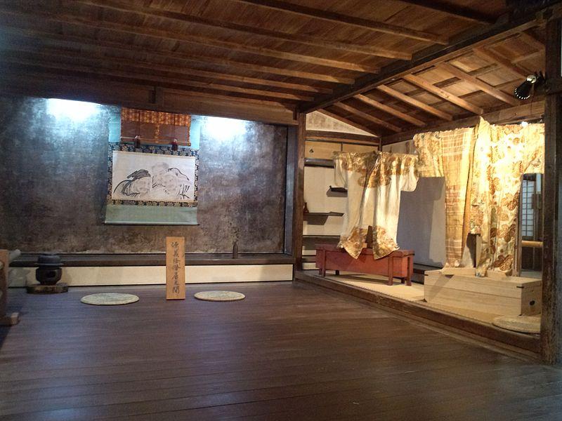 File:Yoshimizu-Shrine Indoors of shoin 2.jpg