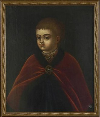 Peter the Great - Peter the Great as a child