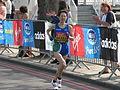 Yukiko Akaba, London Marathon 2011.jpg
