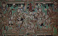Yulin Cave 12 n wall musicians & dancer (Five Dynasties).jpg