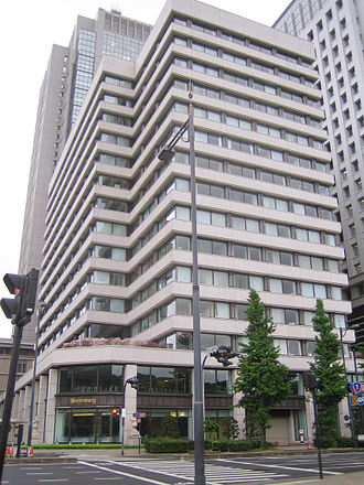 Nippon Yusen - Head office of NYK Line (日本郵船) at Marunouchi, Chiyoda, Tokyo, Japan