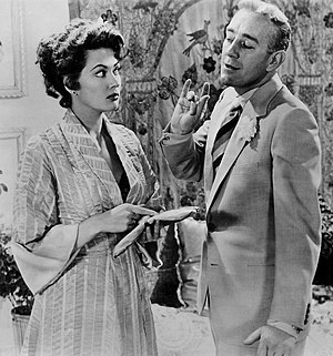 Yvonne De Carlo - De Carlo with Alec Guinness in The Captain's Paradise (1953)