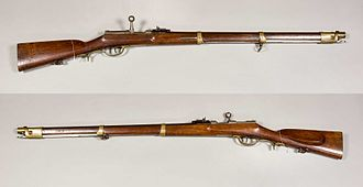 Dreyse needle gun - Image: Zündnadelgewehr m 1854 Jägertruppen Preussen Armémuseum
