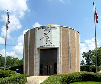 Babe Didrikson Zaharias - The Babe Didrikson Zaharias Museum in Beaumont is also one of the city's welcoming centers.