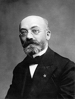 L. L. Zamenhof Inventor of the international language Esperanto in the 19th century
