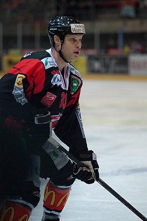 Zarley Zalapski - Image: Zarley Zalapski, Lausanne Hockey Club HC Sierre, 20.01.2010