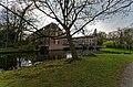 Zeist - Zinzendorflaan - English Park bij Slot Zeist 1831 by Jan David Zocher jr. - Slot Zeist (1677-1686) by Jacobus Roman 22.jpg