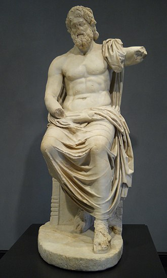 Zeus - Zeus, at the Getty Villa, A.D. 1 – 100 by unknown.