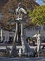 """""""Bodenseereiter"""" Brunnen von Peter Lenk in Überlingen.jpg"""
