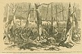 """Capture of Fort Donelson. Charge of the 8th Missouri Regiment, By Colonel M.L. Smith, and the 11th Indiana Zuaves, Colonel McGinnis, Led by General Lewis Wallace, at Fort Donelson, February 15th."".jpg"