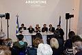 """""""Democracias populares en América Latina"""", en el Salón del Libro de París 2014 (13347897873).jpg"""