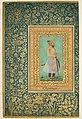 """Portrait of Sayyid Abu'l Muzaffar Khan, Khan Jahan Barha"", Folio from the Shah Jahan Album MET DP164683.jpg"