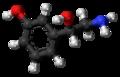 (S)-Norfenefrine molecule ball.png