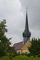 Église Saint-Martin de Cintray, façade Ouest.jpg
