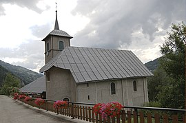 The church in Cohennoz