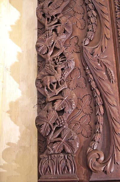 Église de Villesèque - 02082013 - Détail du rétable